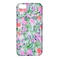 Softly Floral A Apple iPhone 5C Hardshell Case