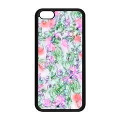 Softly Floral A Apple iPhone 5C Seamless Case (Black)