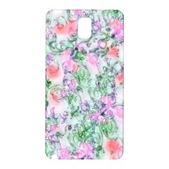 Softly Floral A Samsung Galaxy Note 3 N9005 Hardshell Back Case