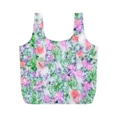 Softly Floral A Full Print Recycle Bags (M)