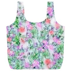 Softly Floral A Full Print Recycle Bags (L)