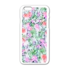 Softly Floral A Apple iPhone 6/6S White Enamel Case