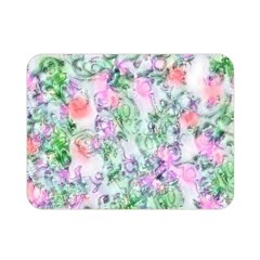 Softly Floral A Double Sided Flano Blanket (Mini)
