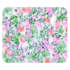 Softly Floral A Double Sided Flano Blanket (Small)