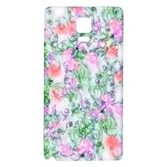 Softly Floral A Galaxy Note 4 Back Case
