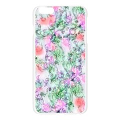 Softly Floral A Apple Seamless iPhone 6 Plus/6S Plus Case (Transparent)