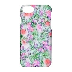 Softly Floral A Apple Iphone 7 Hardshell Case