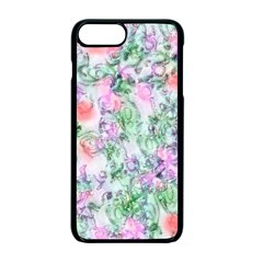 Softly Floral A Apple iPhone 7 Plus Seamless Case (Black)