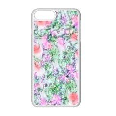 Softly Floral A Apple iPhone 7 Plus White Seamless Case