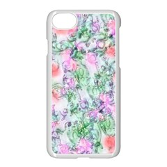 Softly Floral A Apple Iphone 7 Seamless Case (white)
