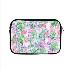 Softly Floral A Apple Macbook Pro 15  Zipper Case