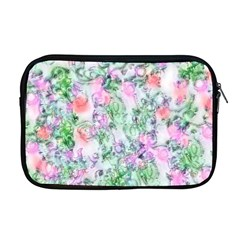 Softly Floral A Apple Macbook Pro 17  Zipper Case