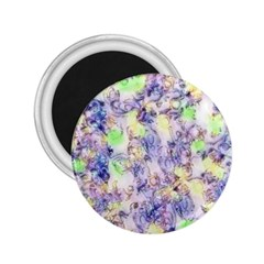 Softly Floral B 2.25  Magnets