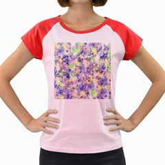 Softly Floral B Women s Cap Sleeve T-Shirt