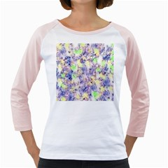Softly Floral B Girly Raglans