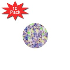 Softly Floral B 1  Mini Buttons (10 pack)