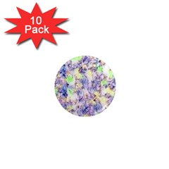 Softly Floral B 1  Mini Magnet (10 pack)