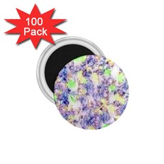 Softly Floral B 1.75  Magnets (100 pack)