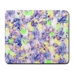 Softly Floral B Large Mousepads