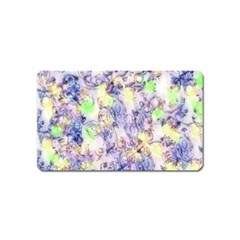 Softly Floral B Magnet (Name Card)