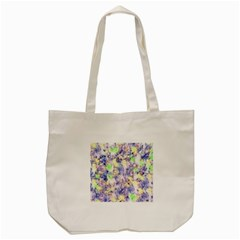 Softly Floral B Tote Bag (Cream)