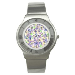 Softly Floral B Stainless Steel Watch