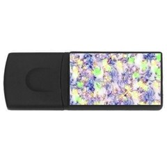 Softly Floral B USB Flash Drive Rectangular (4 GB)