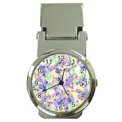 Softly Floral B Money Clip Watches