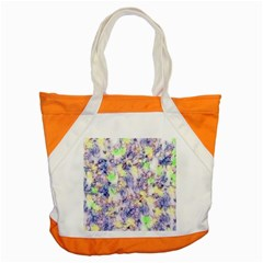 Softly Floral B Accent Tote Bag