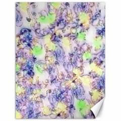 Softly Floral B Canvas 18  x 24