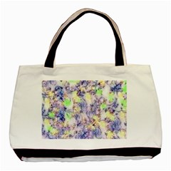 Softly Floral B Basic Tote Bag (Two Sides)