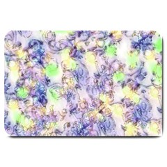 Softly Floral B Large Doormat