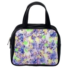 Softly Floral B Classic Handbags (One Side)
