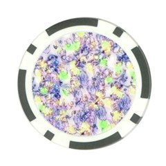Softly Floral B Poker Chip Card Guard (10 pack)