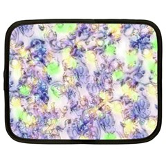 Softly Floral B Netbook Case (XL)