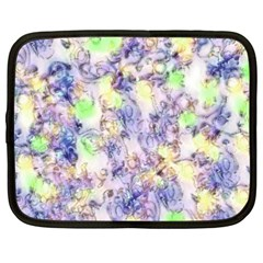 Softly Floral B Netbook Case (XXL)