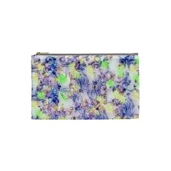 Softly Floral B Cosmetic Bag (Small)