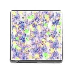 Softly Floral B Memory Card Reader (Square)