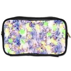 Softly Floral B Toiletries Bags 2-Side