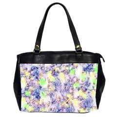 Softly Floral B Office Handbags (2 Sides)