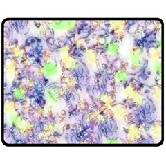 Softly Floral B Fleece Blanket (Medium)