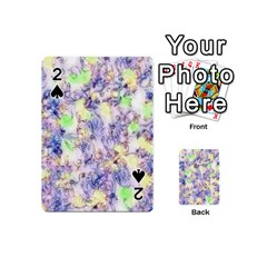 Softly Floral B Playing Cards 54 (Mini)