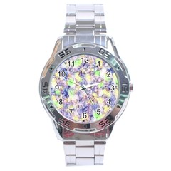 Softly Floral B Stainless Steel Analogue Watch