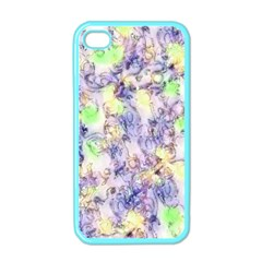 Softly Floral B Apple iPhone 4 Case (Color)