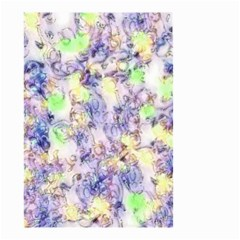 Softly Floral B Small Garden Flag (Two Sides)