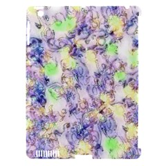 Softly Floral B Apple iPad 3/4 Hardshell Case (Compatible with Smart Cover)