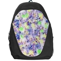 Softly Floral B Backpack Bag