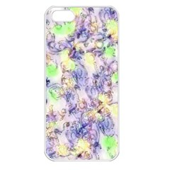 Softly Floral B Apple iPhone 5 Seamless Case (White)