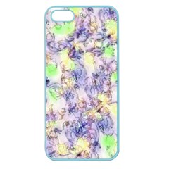 Softly Floral B Apple Seamless iPhone 5 Case (Color)
