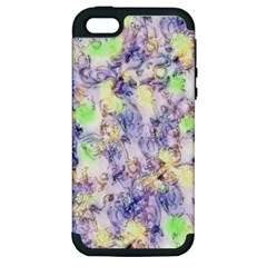 Softly Floral B Apple iPhone 5 Hardshell Case (PC+Silicone)